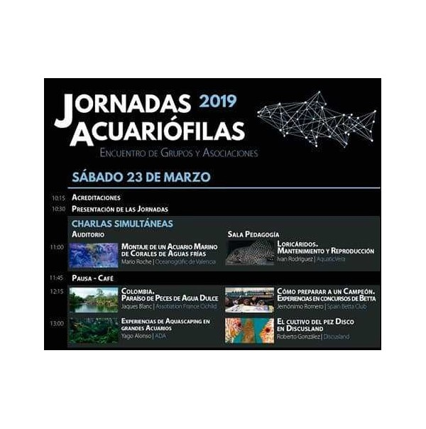Aquarium Conference 2019 at the Zaragoza Aquarium